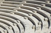 Rows of amphitheater - entertainment background