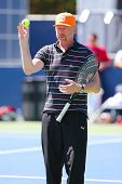 Six times Grand Slam champion Boris Becker coaching Novak Djokovic for US Open 2014
