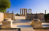 foto of olympian  - Temple of the Olympian Zeus at Athens - JPG