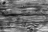 Background From Old Logs Of A Wooden Wall