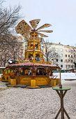 Wooden Christmas Carousel