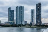 Waterfront Buildings In Miami