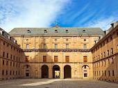 Castle Escorial at San Lorenzo near Madrid Spain