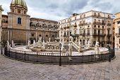 pic of shame  - Palermo Piazza Pretoria also known as the Square of Shame Piazza della vergogna - JPG