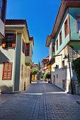 Old town Kaleici in Antalya Turkey - architecture background