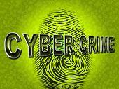 Cyber Crime Indicates Spyware Malware And Hackers