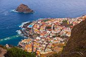 picture of canary  - Garachico in Tenerife island  - JPG