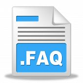 Faq File Shows Frequently Asked Questions And Administration