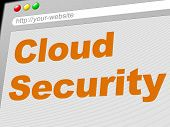 Cloud Computing Indicates Network Server And Connect