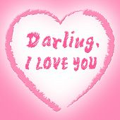 I Love You Represents Darling Passion And Devotion