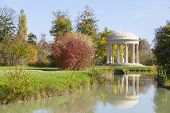 The Temple Of Love In The Gardens Of Trianon