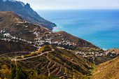 Village Taganana in Tenerife island - Canary Spain