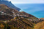 Village Taganana in Tenerife island - Canary Spain