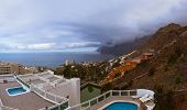 Town Los Gigantes at Tenerife island - Canary Spain