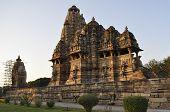 stock photo of khajuraho  - Historic Khajuraho Hindu Temples - JPG