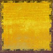 Highly detailed grunge texture or background. With yellow, brown, orange black patterns