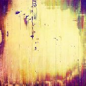 Abstract grunge background or old texture. With yellow, orange, purple, violet patterns