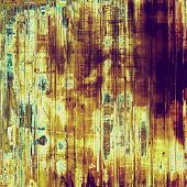 Grunge colorful background. With yellow, brown, green patterns