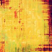 Old Texture. With yellow, ed, orange patterns