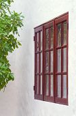 Old Style Window Of Rural House