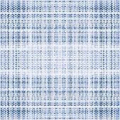 Blue denim canvas texture Seamless vector background