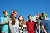 Six Serious Teenagers