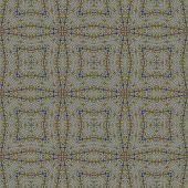 Abstract mosaic pattern in old moorish style