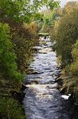 image of swales  - The River Swale in North Yorkshire gives its name to Swaledale one of the popular dales in the Yorkshire Dales  part of the North Yorkshire National Park. This is a view of it from near the village of Keld.