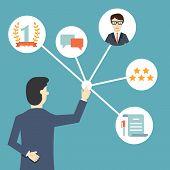 stock photo of customer relationship management  - Customer Relationship Management - JPG
