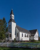 picture of chapels  - Milner Chapel in Langley Britsh Columbia is an official heritage site - JPG
