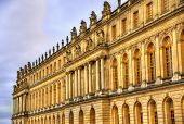 picture of versaille  - Facade of the Palace of Versailles - France