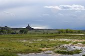 picture of western nebraska  - Chimney Rock National Historic Site - JPG