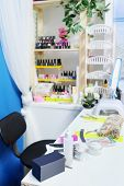 picture of cosmetology  - Interior of a cosmetology office - JPG