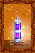 image of eid ka chand mubarak  - easy to edit vector illustration of Eid Mubarak - JPG