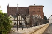 foto of synagogue  - old synagogue in jewish district of Krakow  - JPG