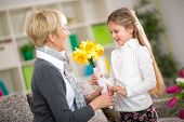 stock photo of grandmother  - 