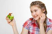 Eating Healthy Apple