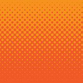 linear halftone tone background orange