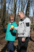 Seniors Found Ball In The Woods During Their Stroll