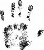 Full Hand Print.Eps