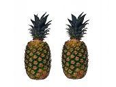 Pineapples. Fruit.
