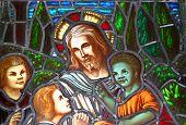 Jesus & The Children, Detail