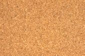 Cork Board Texture Close Up