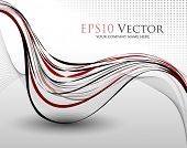 Abstract background composition - vector illustration