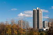 old Moscow skyskrapers