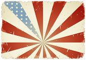 vintage american flag background - rasterized version of vector illustration ID 13198894
