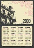 calendário urbano grunge 2009 (começa domingo)