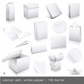 stock photo of takeaway  - vector set - JPG
