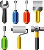 conjunto de ferramentas de vetor