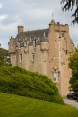 Crathes Castle In Autumn
